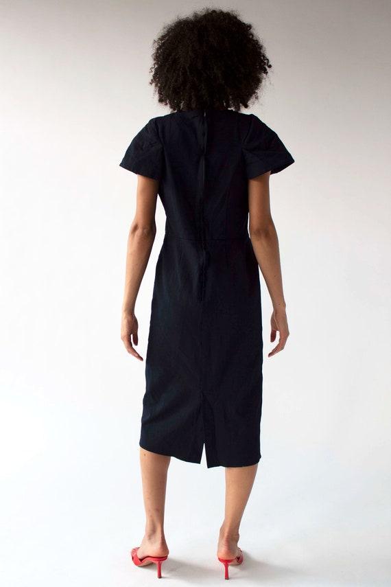 Vintage Comme des Garçons sculptural shift dress - image 8