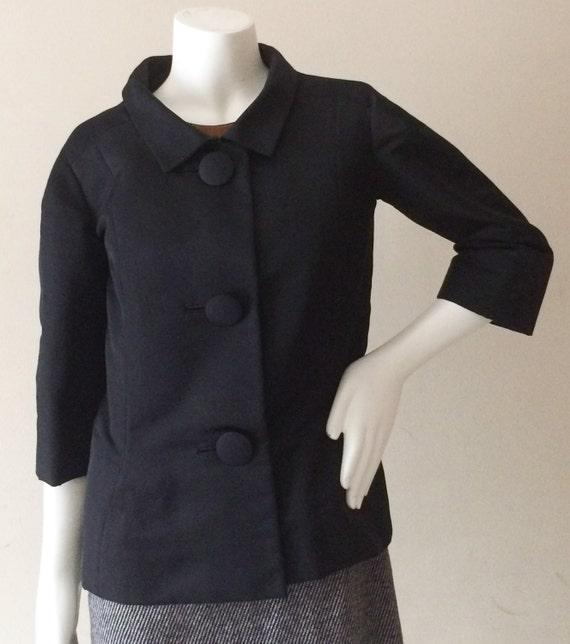 Début des années 1950 Pierre Cardin veste Couture en soie   Etsy 4fddf23fa68
