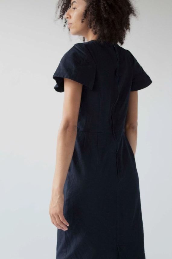 Vintage Comme des Garçons sculptural shift dress - image 9