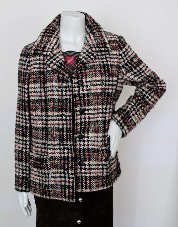 1960s Christian Dior for Bonwit Teller Tweed Jacke