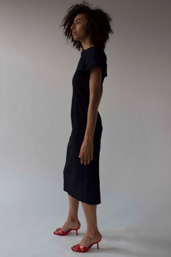 Vintage Comme des Garçons sculptural shift dress - image 6