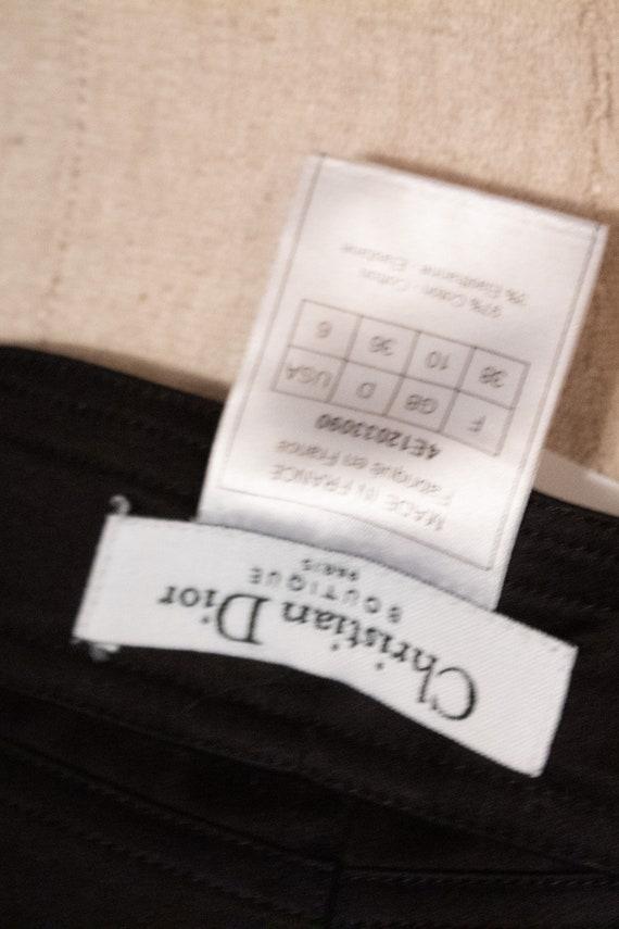 Christian Dior by John Galliano black cotton penc… - image 5