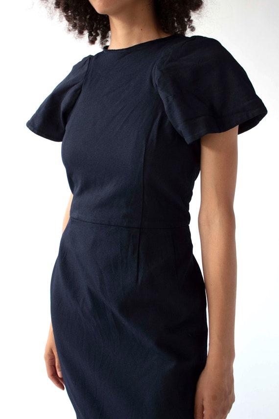 Vintage Comme des Garçons sculptural shift dress - image 4