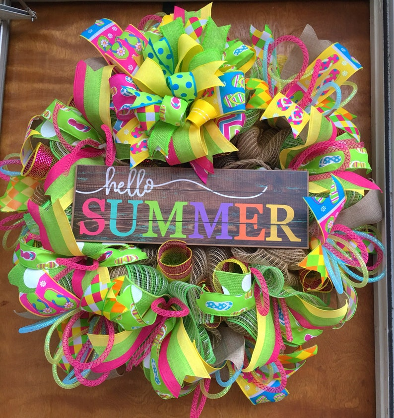 6281f4b2e48ca6 Hello Summer Wreath