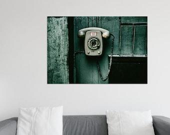 XXL Poster Phone Workshop Dial Photography XXL Print 75 x 100 cm
