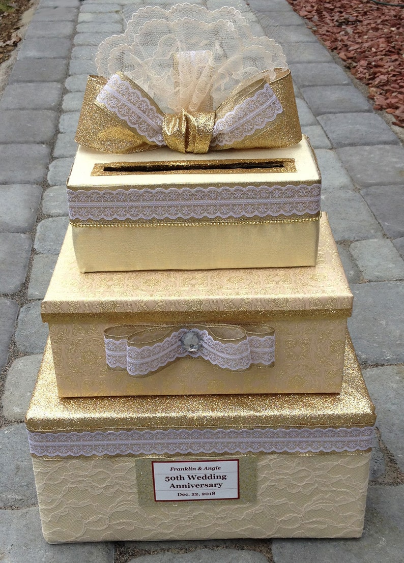 50th anniversary card box,50th anniversary gifts for parents,50th anniversary invitation,50th anniversary decorations,50th anniversary sign