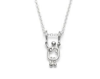 Gift for grandma - Grandma jewelry silver - New grandma gift