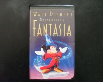 Fantasia VHS clamshell rare walt disney