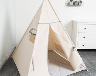 indian teepee kids play tent tipi tente indienne tente de etsy