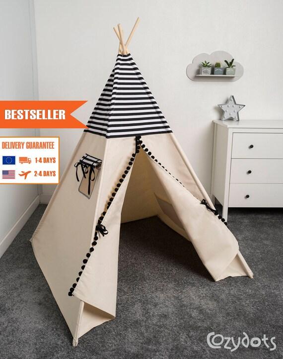 tipi enfant tente tipi tente indienne tente teepee. Black Bedroom Furniture Sets. Home Design Ideas