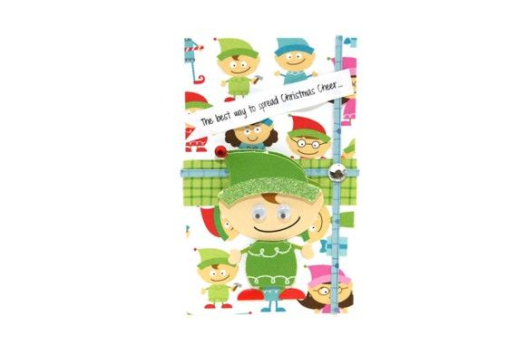 image 0 - Elf Christmas Card