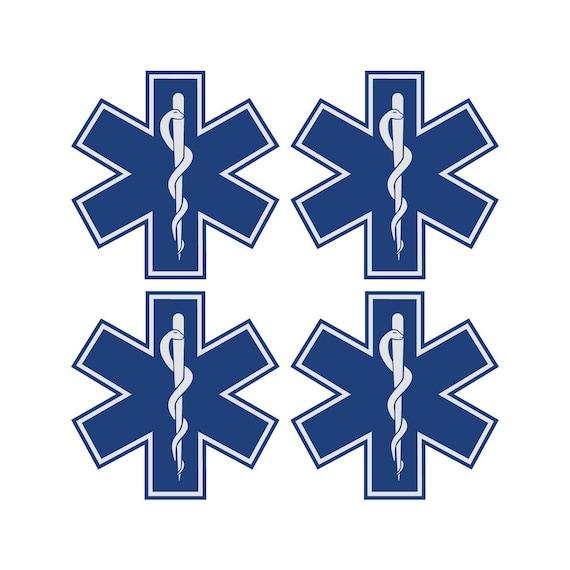 EMS Emergency Medical Services Symbol Vinyl Decal Sticker