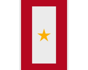 Gold Star Military Window Decal In Memory Of A Family Member Who Paid The Ultimate Price Army Air Force Marine Corps Navy Coast Guard