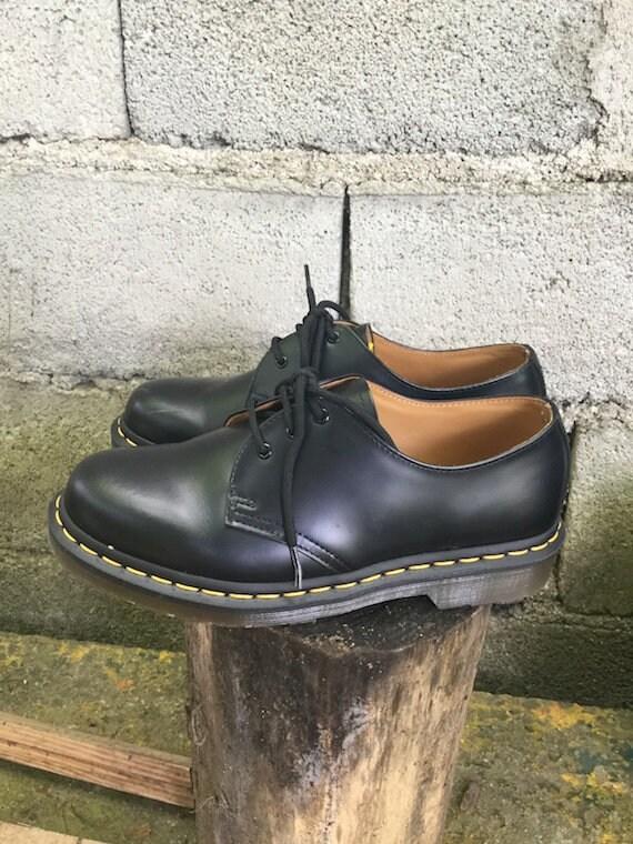 s 7 nombre S Uk noir 5 Dr 5 40 unisexe 6 90 Martens Vintage il cuir chaussures U qxBZwIC