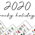 2020 Wacky Holiday Bundles // Doodles