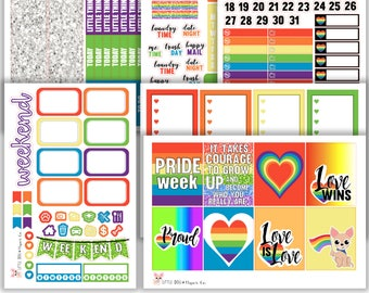 Pride Collection // Planner Stickers