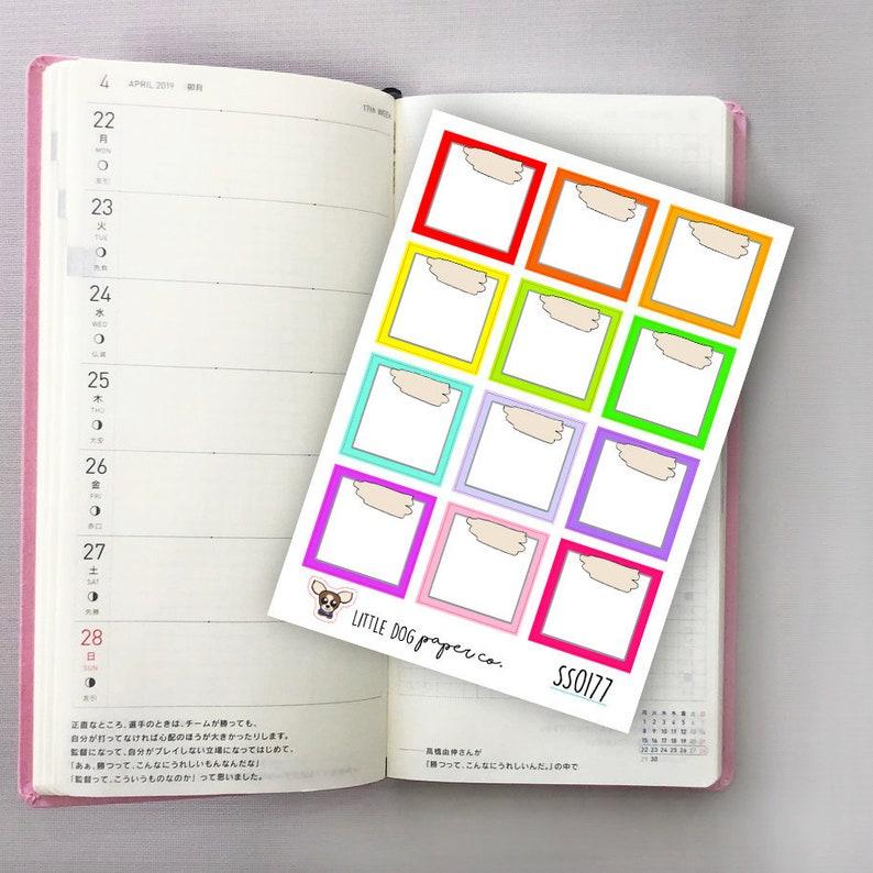 SS0177 // Hobonichi Weeks Boxes // Rainbow image 0