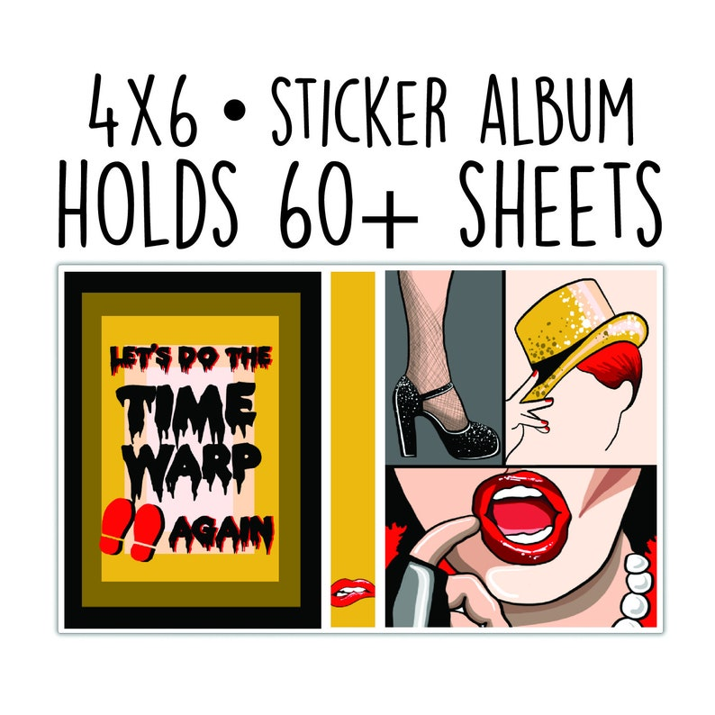 Sticker Album // Time Warp image 0