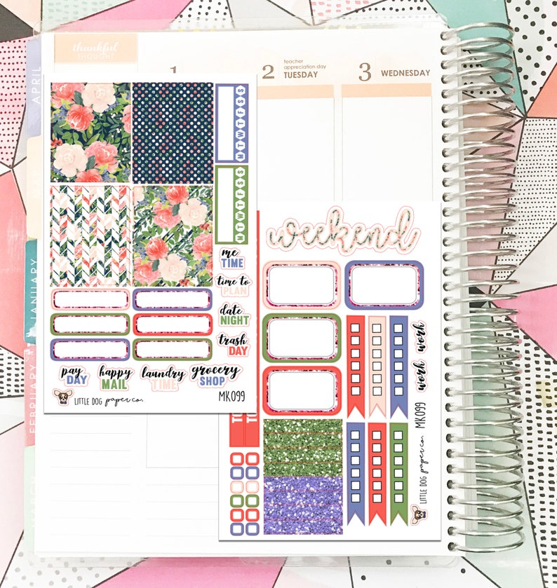 MK099 // Mini Kit // Watercolor Floral Collection image 0