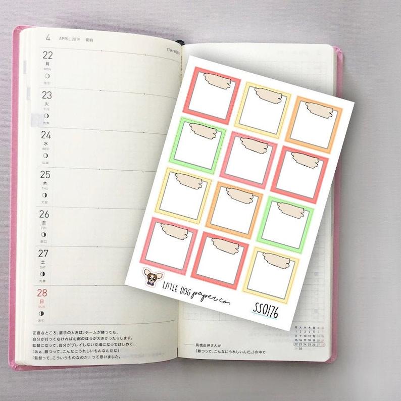 SS0176 // Hobonichi Weeks Boxes // Sorbet image 0