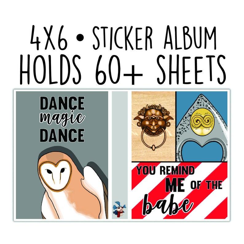 Sticker Album // Goblin King image 0
