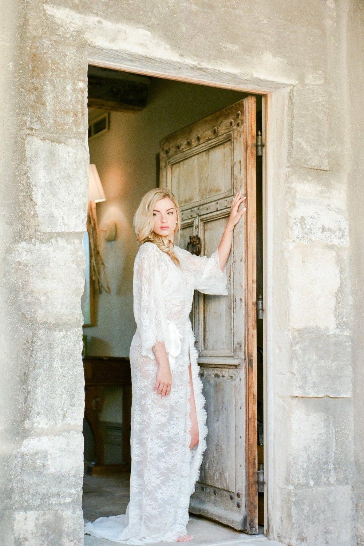 ready to ship   Maria Long lace robe Chantilly lace robe  16347bc1f