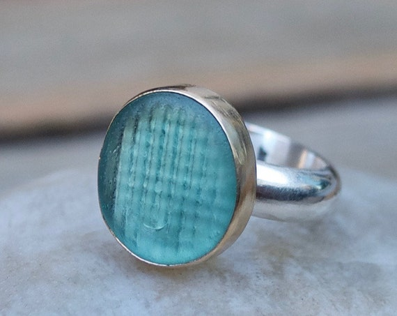 Custom Order for Arlene  l  Ohajiki Sea Glass Marble  l  Sea Glass Jewelry by Kate Samson