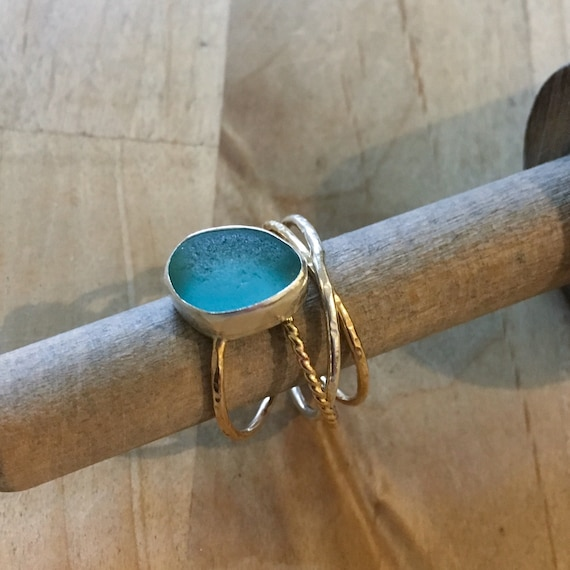 Sea Glass | Sea Glass Jewelry  | Puzzle Sea Glass Ring