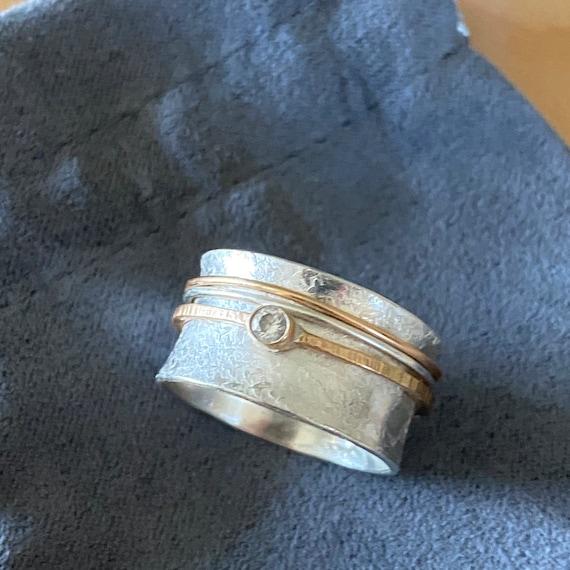 Mediation Ring | Spinner Ring | Fidget Ring