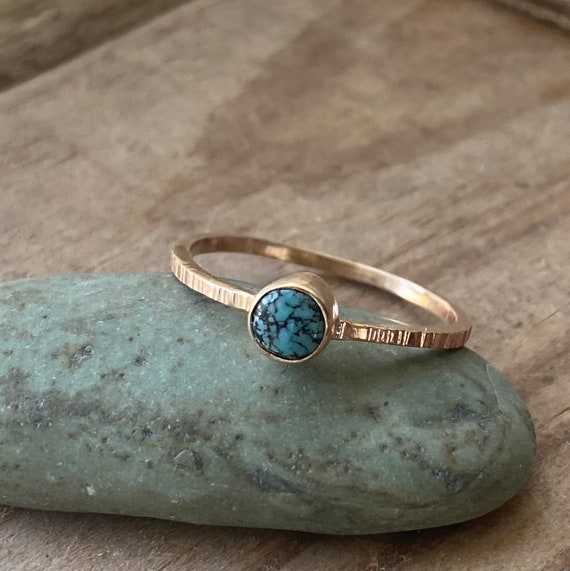 Turquoise Ring | 14k Gold Turquoise Ring