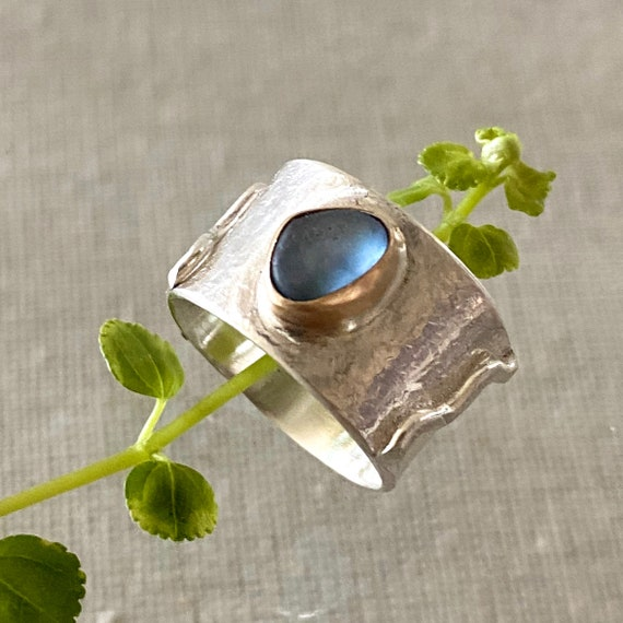 Sea Glass Ring I Size 7.5 I Sea Glass Jewelry by Kate Samson Design