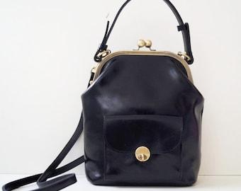 7f1bd47ee40e7 Leder Handtasche