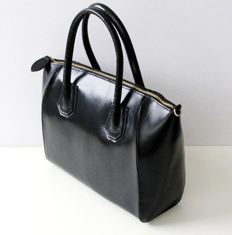 e80709a9fb741 Leder Handtasche Scarlet in schwarz Damen Ledertasche Leder
