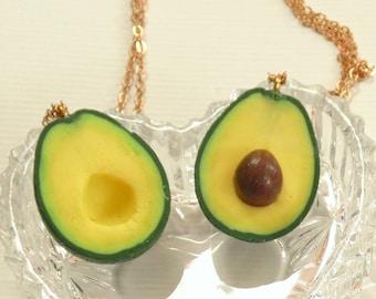 3ecf3cb1f8a8e Polymer avocado | Etsy