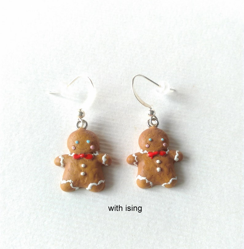 Polymer Clay Christmas Jewelry.Christmas Jewelry Gingerbread Man Earrings Gingerbread Jewelry Polymer Clay Jewelry Gift For Her Cookie Earrings Fake Food Jewelry Xmas Gift