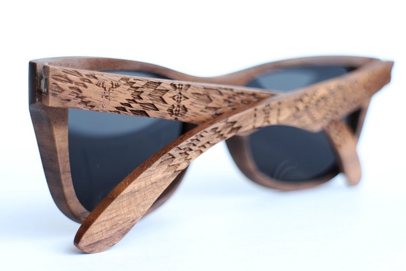1f1442c3ab Wood Sunglasses from Walnut by WOODEER Pattern Collection