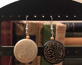 fc3bfb0dc Boho hippie earrings | Etsy