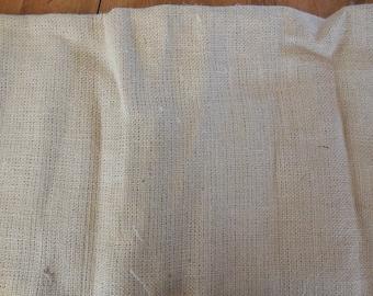 Destash- Remnant of Burlap Fabric