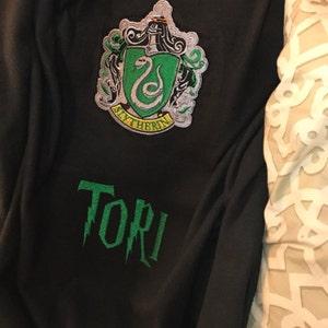 3b545b734 Harry Potter Machine Embroidery Slytherin Crest Designs File Pattern  Hogwarts House