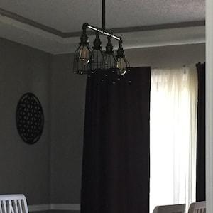 Industrial Floor Lamp Floor Light Pulley Light Pipe Etsy