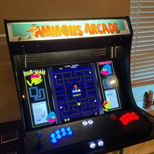 Sanwa Easy to Assemble 2 Player LVL23 XL Bartop//Tabletop Arcade Cabinet Kit