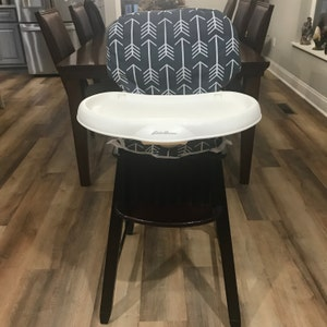 Cool Diner Highchair Cover In Gray Chevron Fits More See Descript Bralicious Painted Fabric Chair Ideas Braliciousco