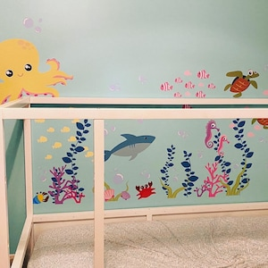 Nursery Wall Decals Kids Wall Decals Ocean By Walldecalsource
