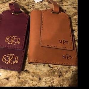 Custom gift Luggage tags personalized, Leather luggage tags, luggage tag favor, luggage tags wedding, groomsmen gift, wedding favors photo
