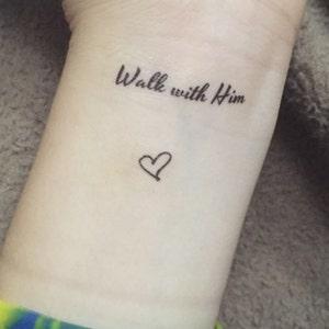 Tymczasowy Tatuaże Cytaty Fake Tattoo Cytaty Krótki Cytaty Zestaw 5 Małych Cytaty Religijne Tatuaże Inspirujące Tatuaże