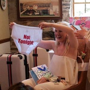 31af88f5a1 Bridal Shower Gift Funny Underwear Bachelorette Party | Etsy