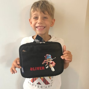 Personalized Game Roblox Own Character Mr Bling Bling Dued1 Lunch Box Kids School Lunch Box Custom Design Availavle Personalized Game Roblox Own Character Mr Bling Bling Etsy