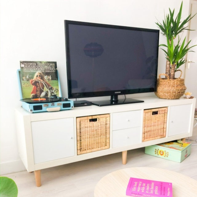 Expedit Tv Kast.Back Panel For Ikea Kallax Shelf Kallax Compartment 2 Pieces Etsy