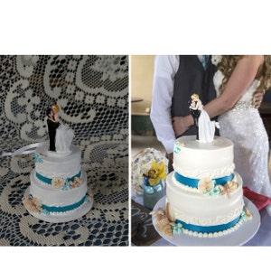 Wedding Cake Ornament Wedding Cake Replica Personalized Etsy