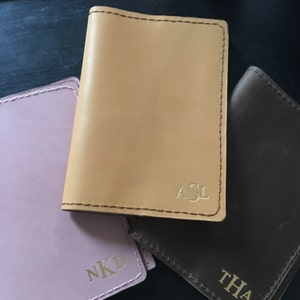 Leather passport cover personalized, Leather Passport holder, passport case, passport wallet, travel gift, wanderlust gift, traveler's gift photo